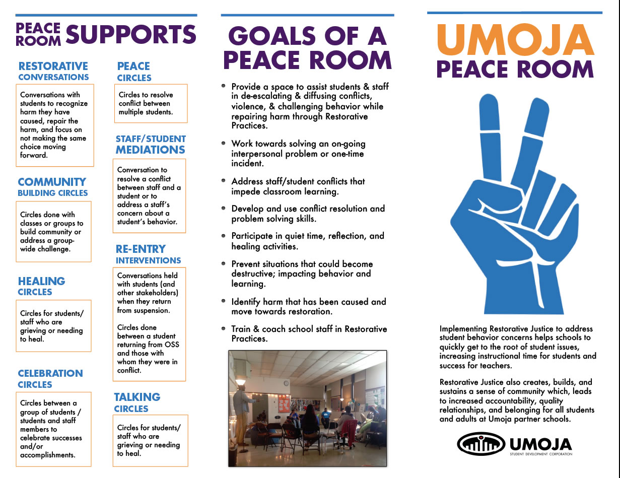 Umoja Peace Room